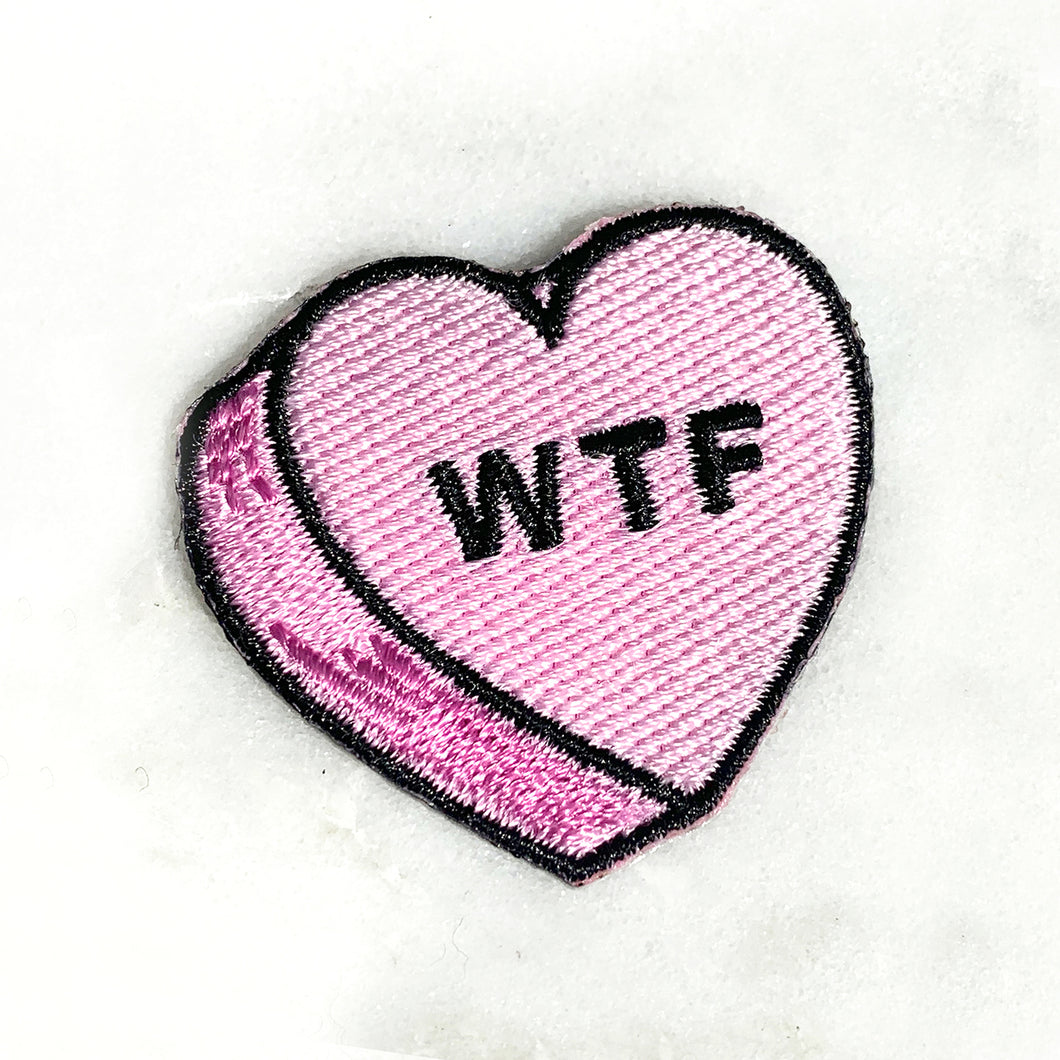 Candy Heart Patch--WTF