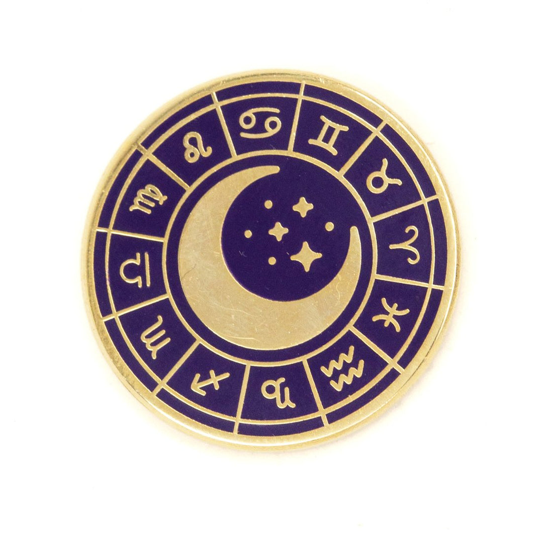 Zodiac Wheel Pin