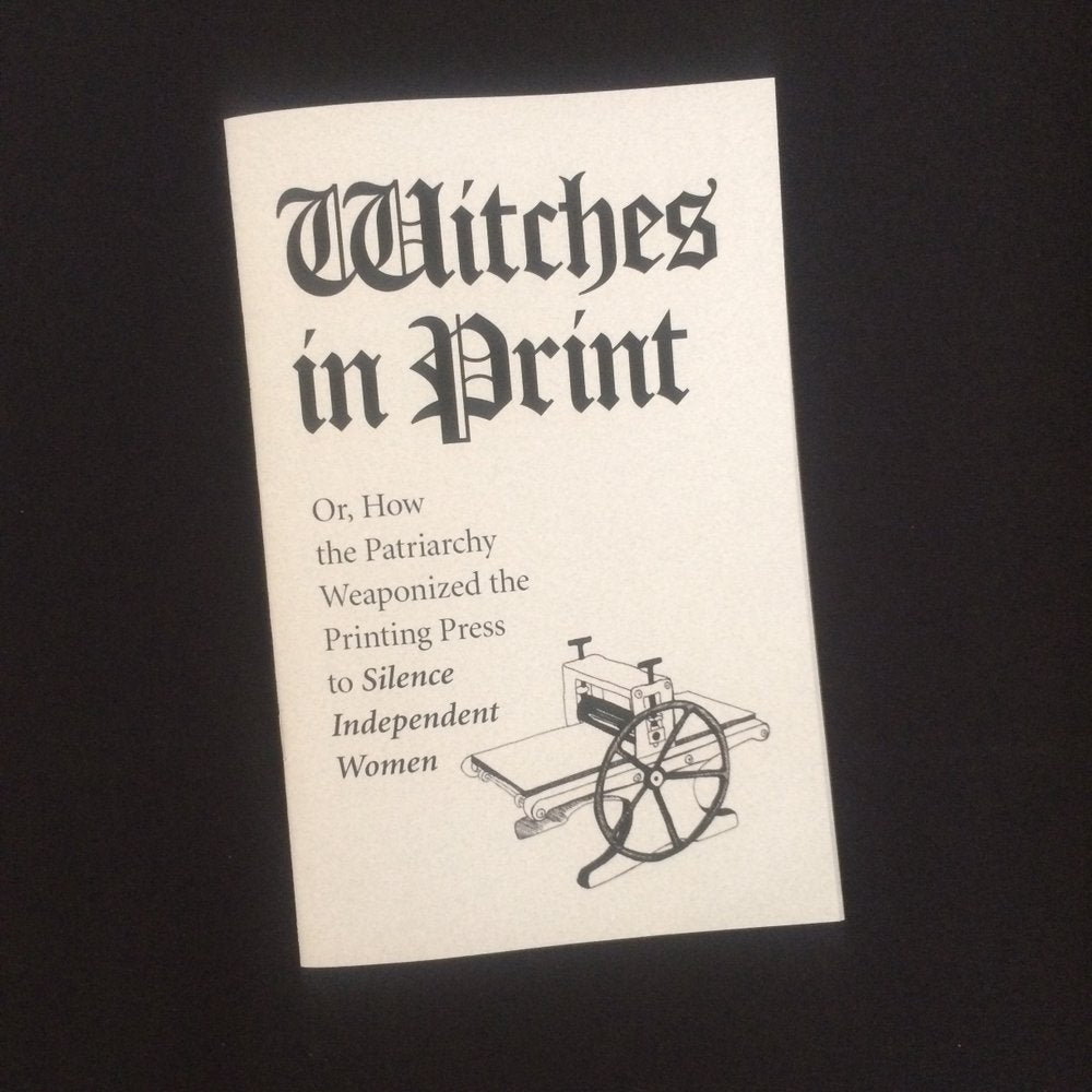Witches In Print zine