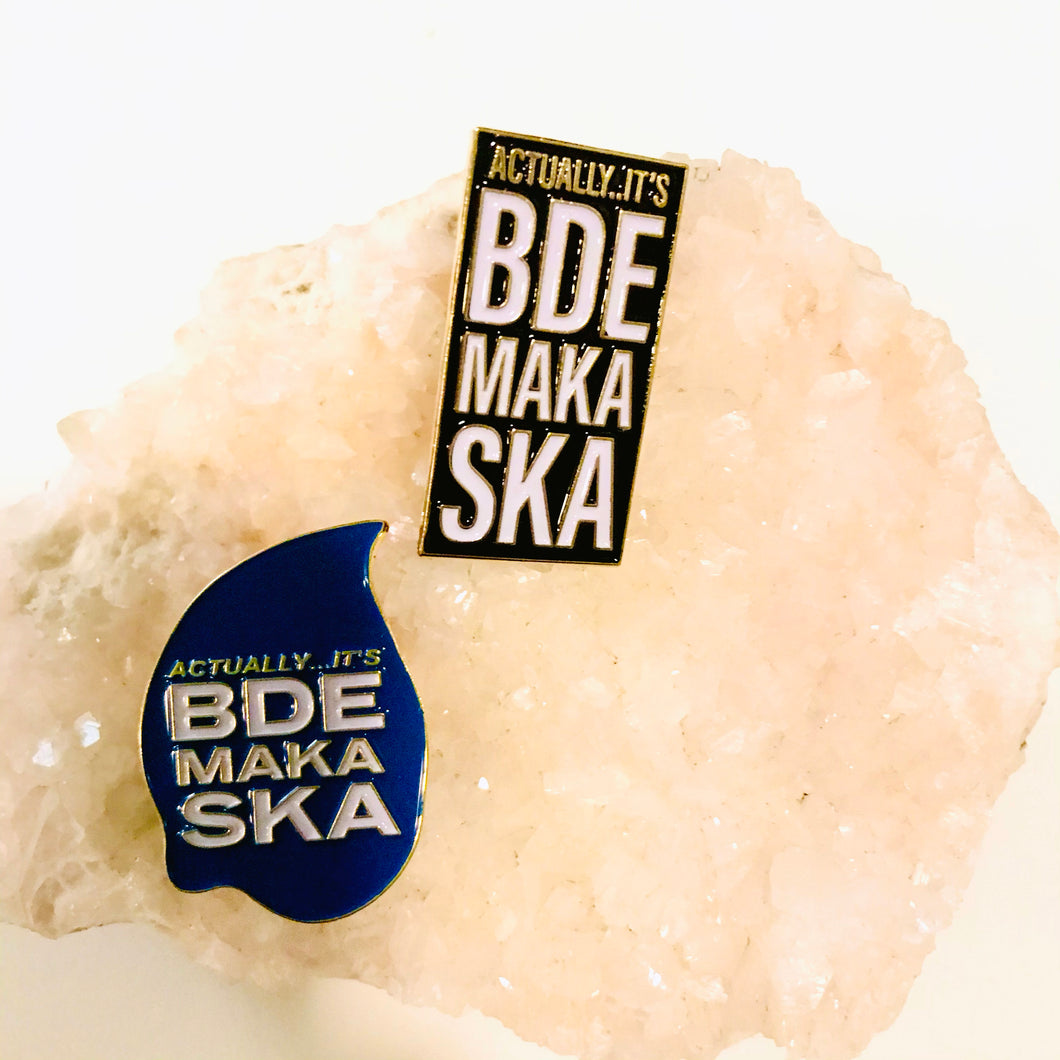 Actually it's Bde Maka Ska pin