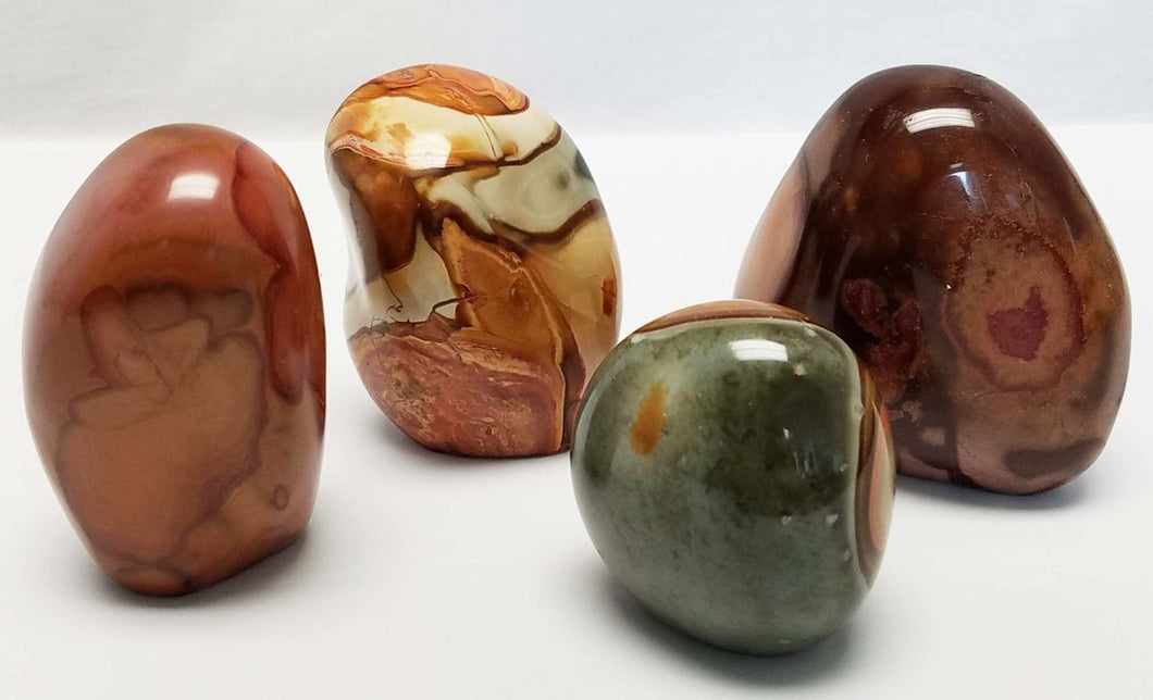 Polished Polychromatic Jasper Free Form