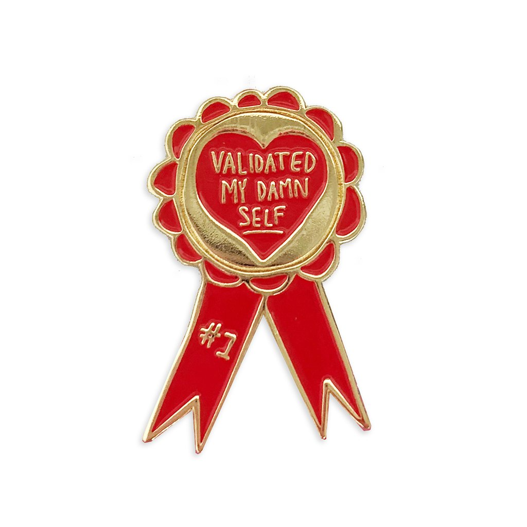 Self-Validation Award Pin