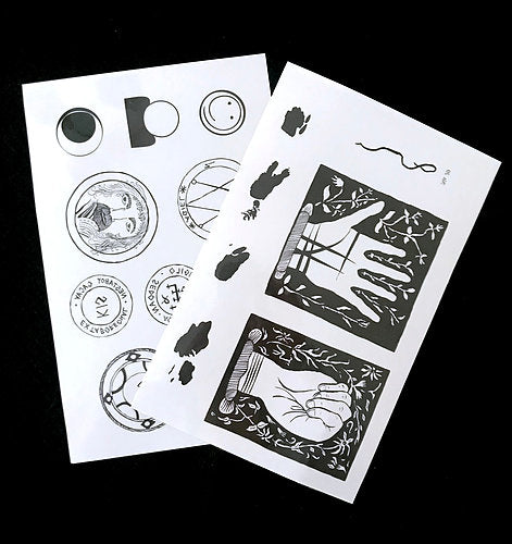 Temporary Tattoos, 4 Pack
