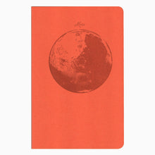 Mars recycled letterpress notebook