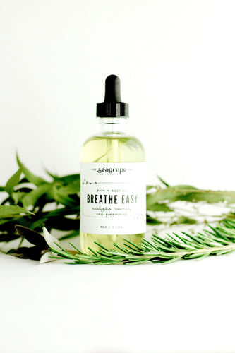 Breathe Easy Massage Oil