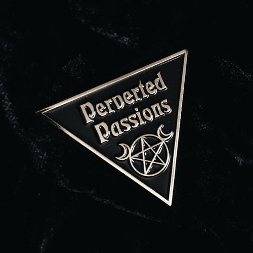 Perverted Passions Enamel Pin