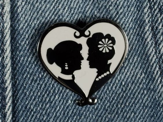 Ladies Enamel Pin