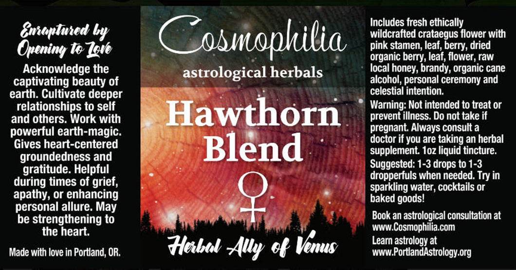 Hawthorn Blend Honey Tincture (Venus)