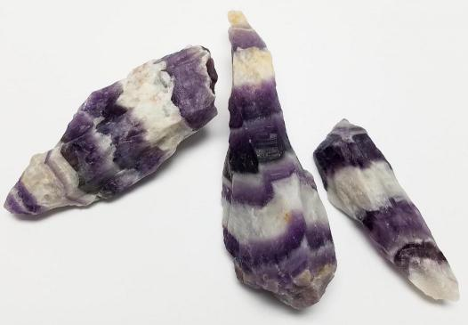 Chevron Amethyst Natural Point