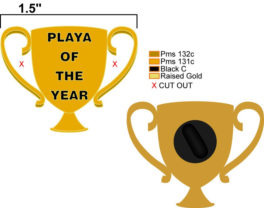 Playa of the Year pin
