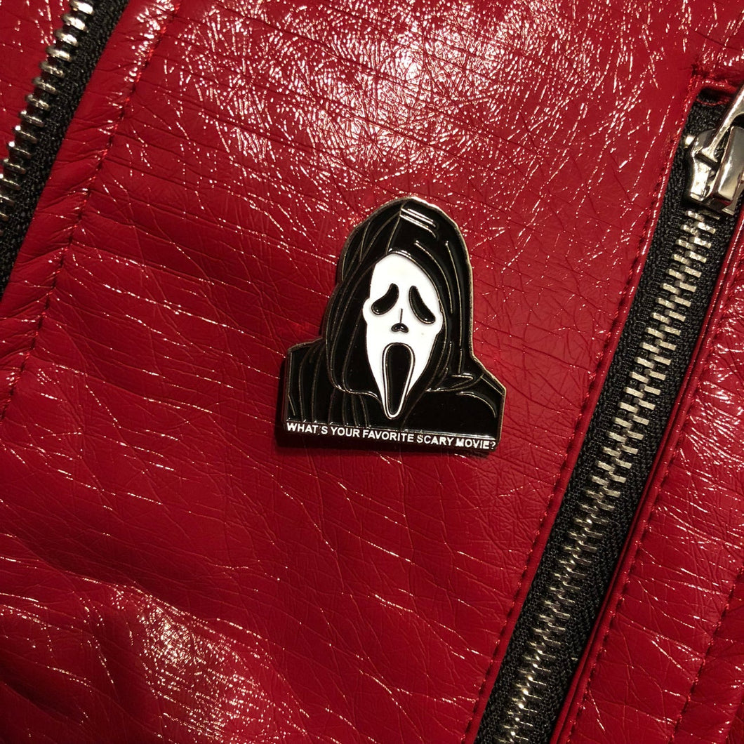 What's Your Favorite Scary Movie pin