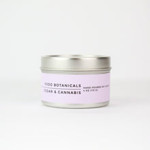 Cedar + Cannabis Travel Candle