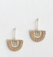 Chalice Earrings--Salmon