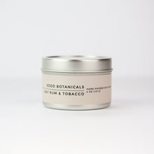 Bay Rum + Tobacco Travel Candle