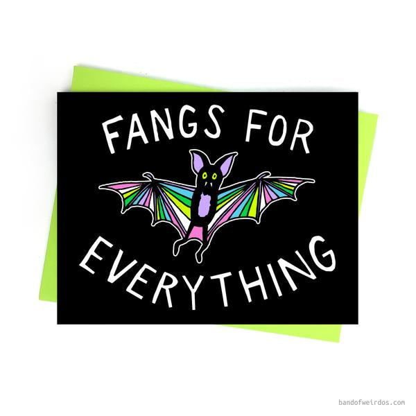 Fangs for Everything Card