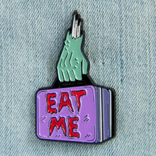 Eat Me Zombie Lunch Box Enamel Pin