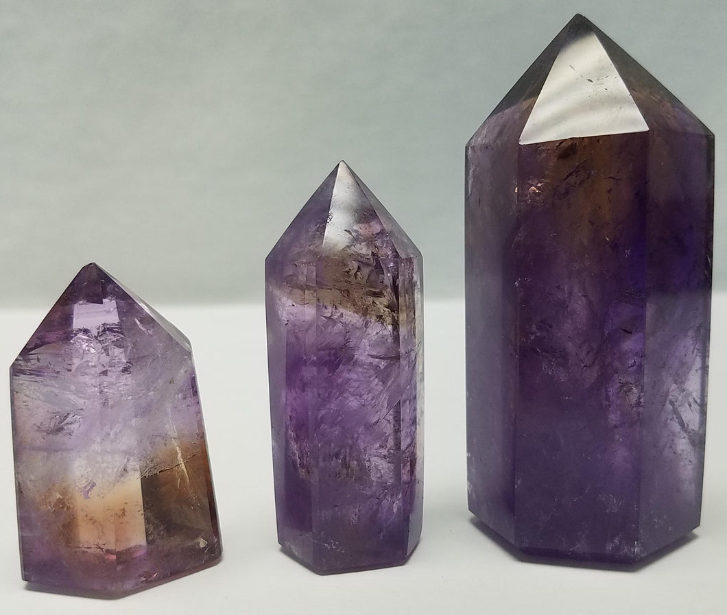 Polished Ametrine Point