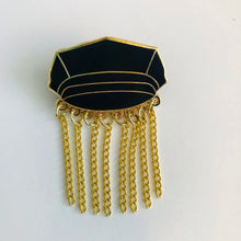 Chain Hat pin