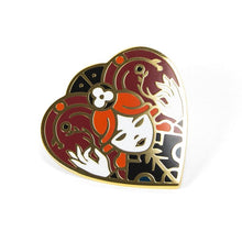 Queen of Hearts Enamel Pin