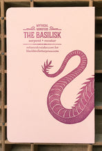 Basilisk letterpress notebook