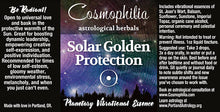Solar Golden Protection Vibrational Essence