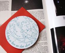 Stars Above Us circle card