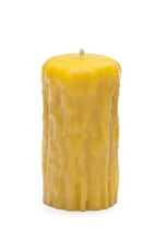 Beeswax Rustic Pillar Candles