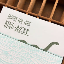 Ness thank you fold out card