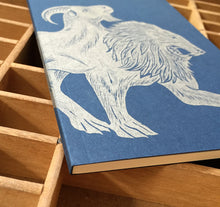 Chimera letterpress notebook
