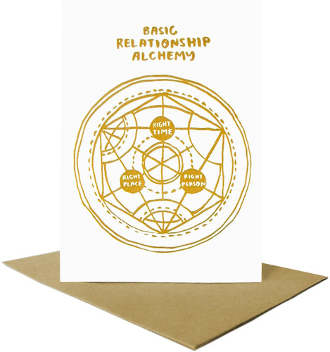 Basic Relationship Alchemy Card