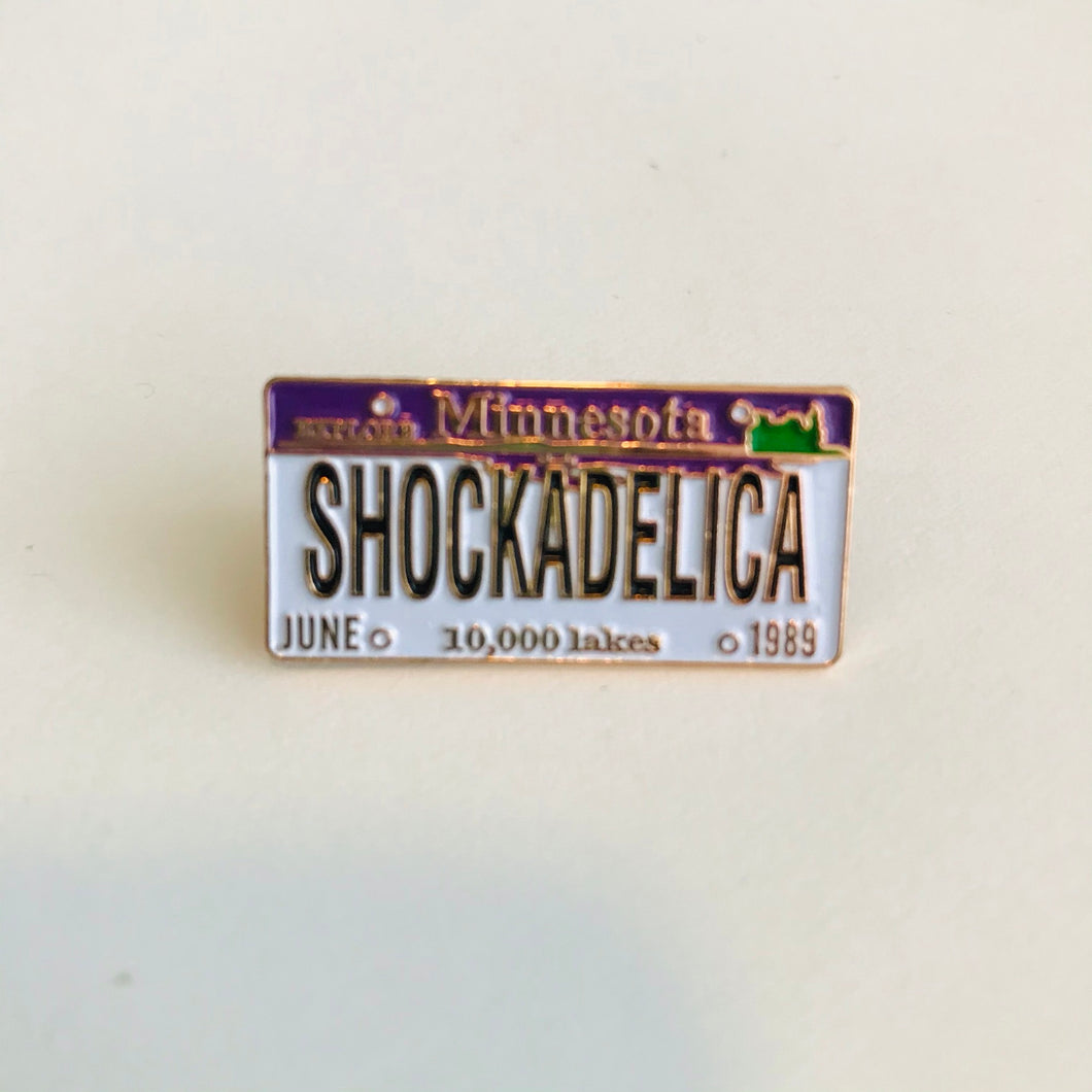 Shockadelica pin