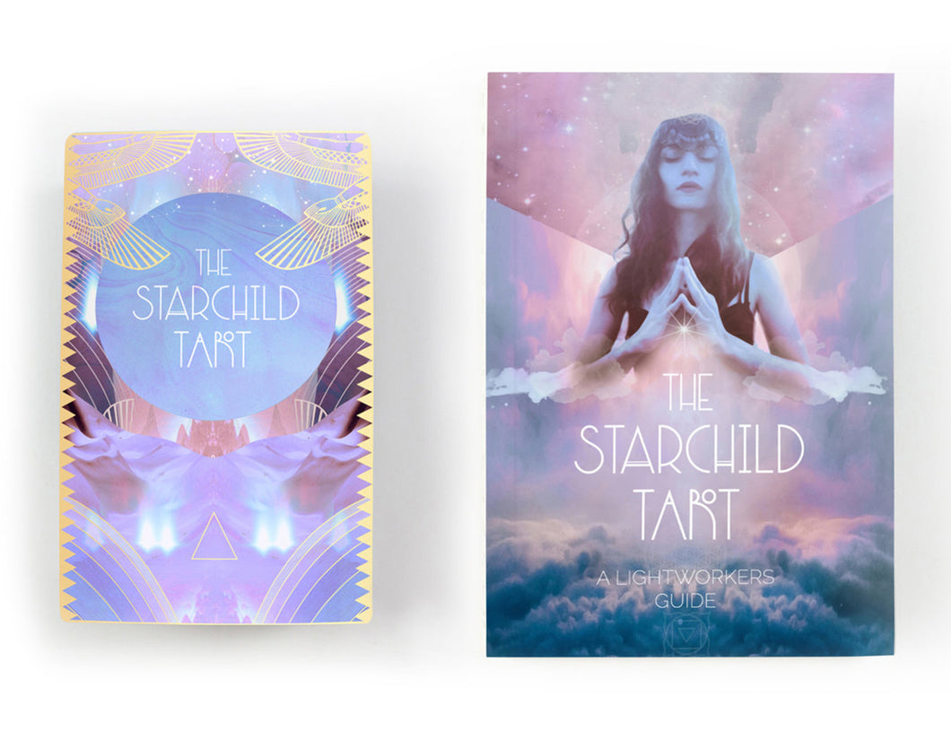 Starchild Tarot Akashic & Guidebook Traditional Size