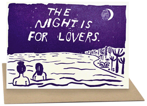 The Night is for Lovers Card