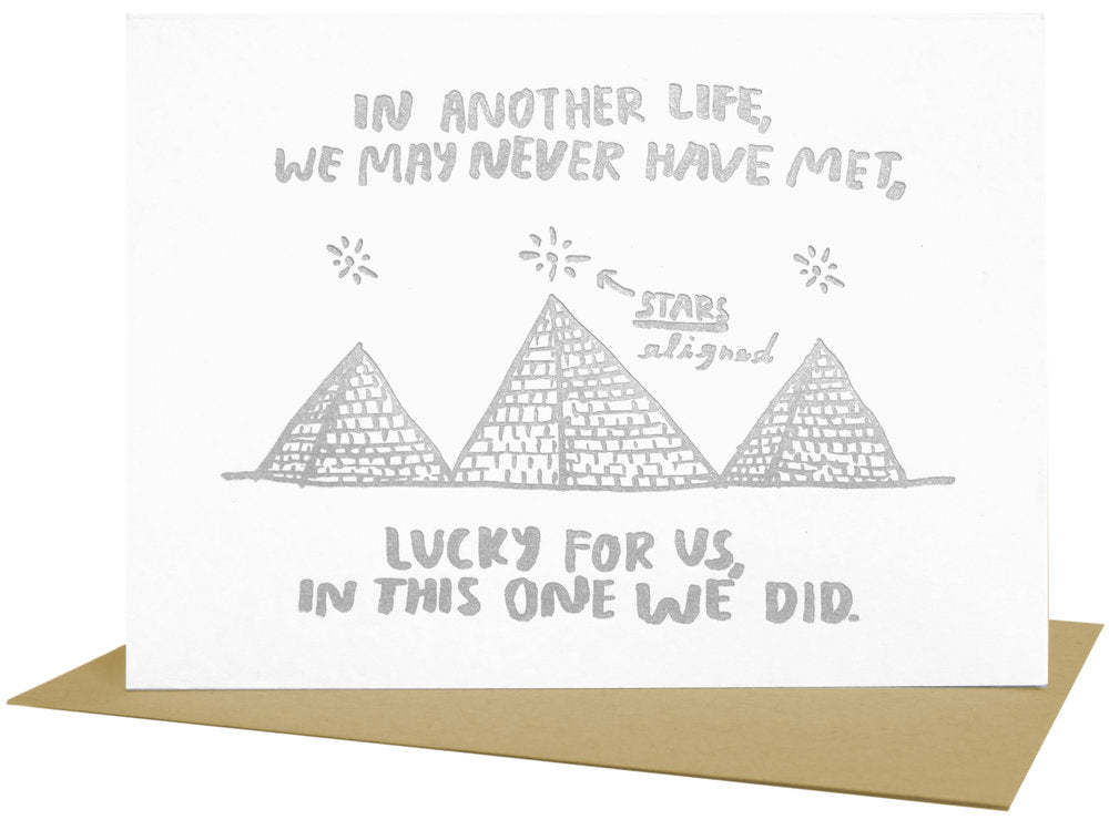 Lucky for Us Card
