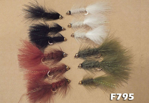 Wooly Buggers - Beadhead Assorted