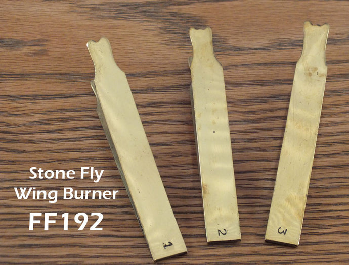 Stone Fly Wing Burner Set - Brass