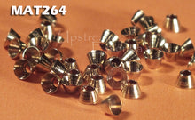 "Brass Tapered Cone Heads -  5/32"" 4mm 50 pkg"