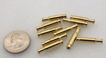Brass Bottle Tubes for Tube Flies 10/pack 22mm