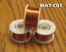 Copper Wire For Fly Tying - 3 Spools