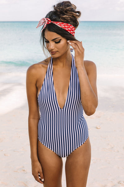 Larkspur One Piece - Wild Flower Swimwear