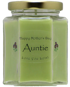 """Auntie"" - Happy Mother's Day Candles"