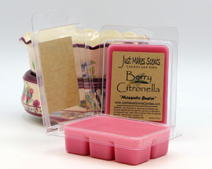 Berry Citronella Scented Wax Melts