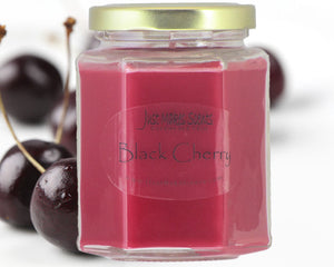 Black Cherry Scented Candle