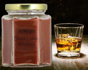 Black Label Whiskey Scented Candle