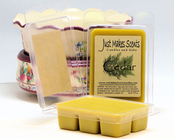 Cedar Scented Wax Melts