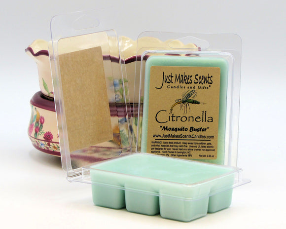 Citronella Scented Wax Melts
