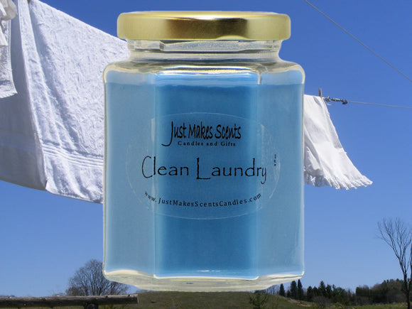Clean Laundry Scented Candle