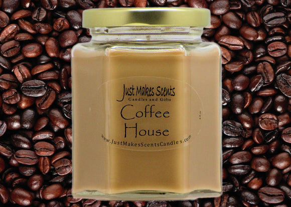 Coffee House Scented Candle