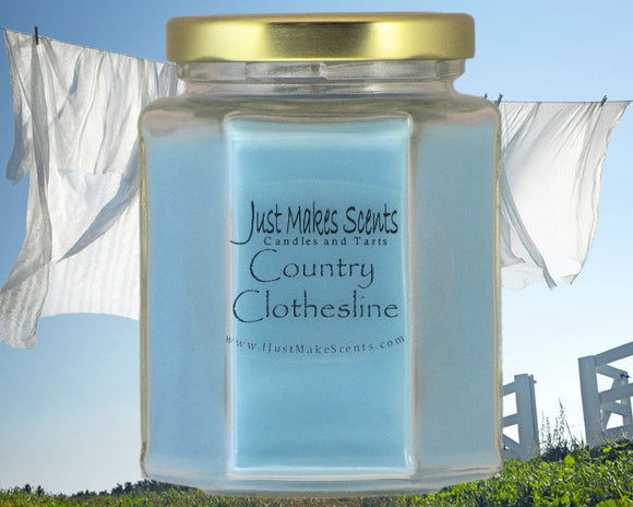 Country Clothesline Scented Candle