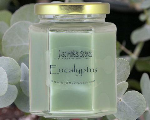 Eucalpytus Scented Candle